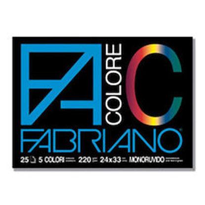 Immagine di Album Fabriano Colore monoruvido 24X33 220gr