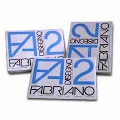 Immagine di Album Fabriano F2 ruvido 24X33 20fg 110gr angoli
