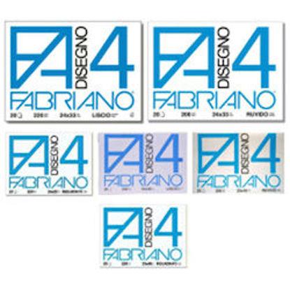 Immagine di Album Fabriano F4 liscio 24X33 20 fg 220 gr riquadrato
