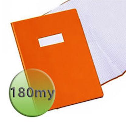Immagine di Copertina per quaderni A4 180 micron arancione