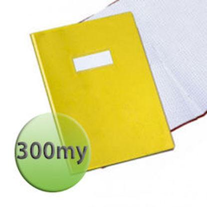 Immagine di Copertina per quaderni A4 300 micron gialla