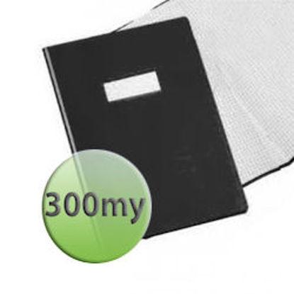 Immagine di Copertina per quaderni A4 300 micron nera