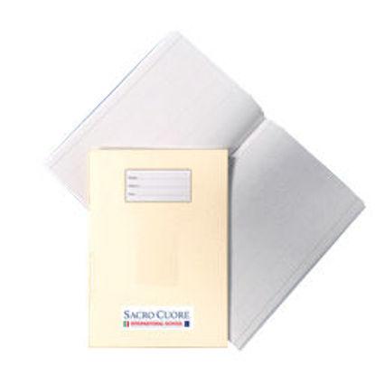 Immagine di Quaderno A4 a quadretti 5mm con margine Bianco S. C.