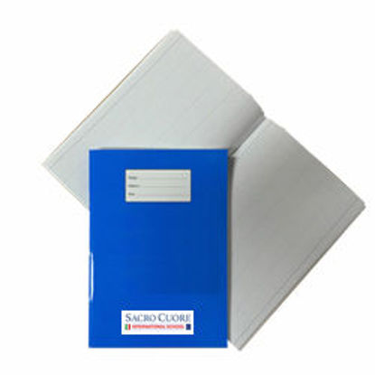 Immagine di Quaderno A4 a quadretti 5mm con margine Blu S. C.
