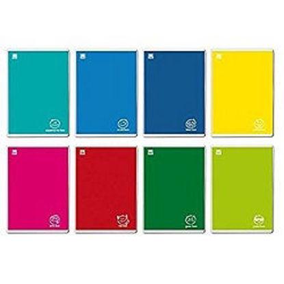 Immagine di Quaderno A4 Colorface a quadretti 10mm senza margine 100gr